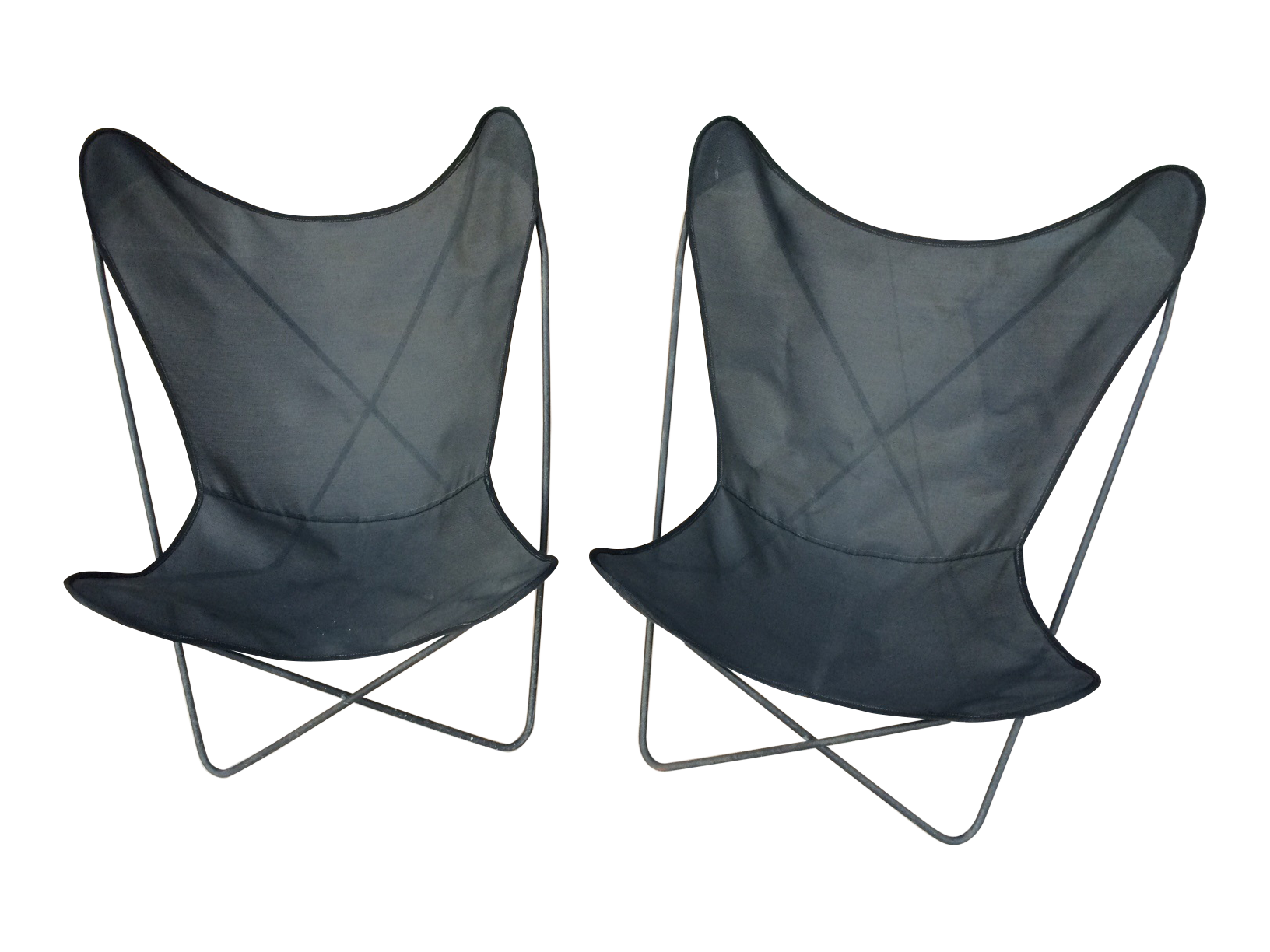 Circa50 Butterfly Chairs And Covers   A Pair