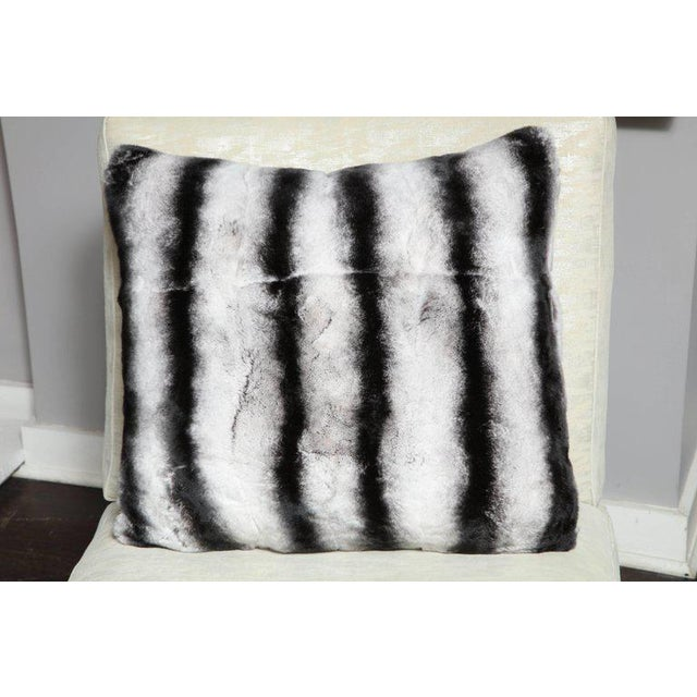 Custom Rex Rabbit Pillow For Sale In New York - Image 6 of 6