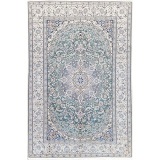 Mansour Exquisite Handmade Persian Nain Rug