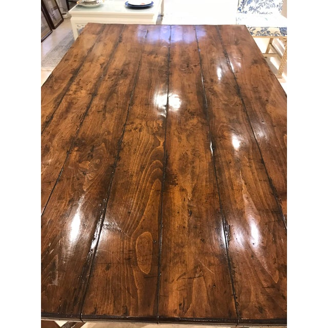 Early 21st Century Guy Chaddock Wood Dining Table For Sale - Image 5 of 12