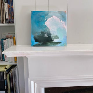 """""""High Surf"""" by Trixie Pitts Mini Abstract Oil Painting Preview"""