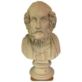 Plaster Bust of Homer For Sale