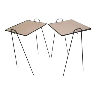 Paul McCobb Planner Group Style Nesting Side Tables - A Pair