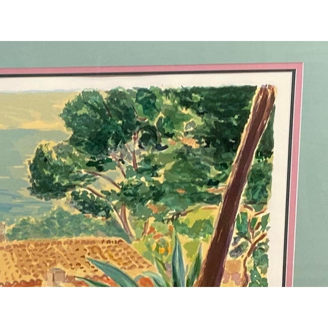 """White """"Garden by the Sea II"""" Framed Print by Carlton Penny For Sale - Image 8 of 11"""