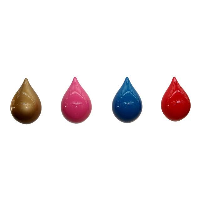 John Szabo Limited Edition Dew Drop Sculpture- Set of 4 For Sale