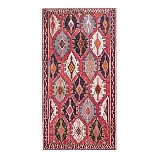 1900s Antique Caucasian Kilim Rug For Sale