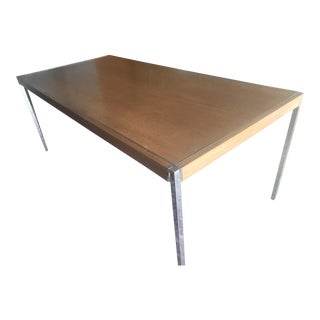 Mid-Century Modern Richard Schultz Dining Table For Sale