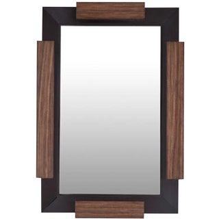 Henredon Modern David Kleinberg Farren Wood Wall Mirror For Sale