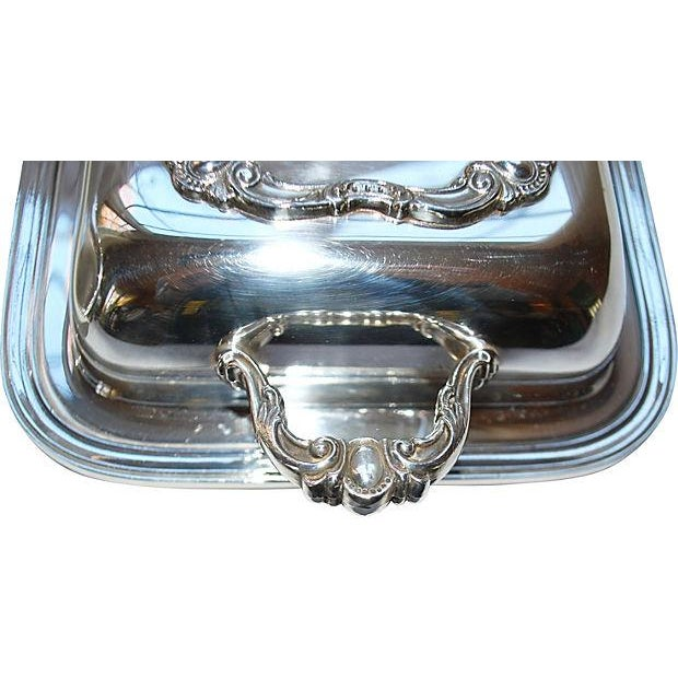 Rochelle Silver Covered Serving Dishes - A Pair - Image 4 of 5