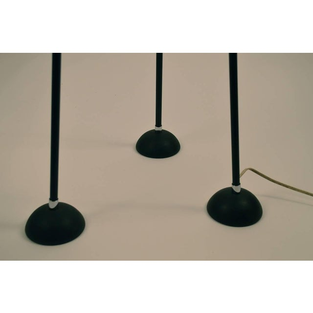 """1970s Mid Century Tripod Torchiere Floor Lamp by """"Keystone"""" For Sale - Image 5 of 8"""