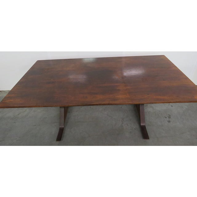 Frattini Italian Rosewood Dining Table - Image 2 of 9