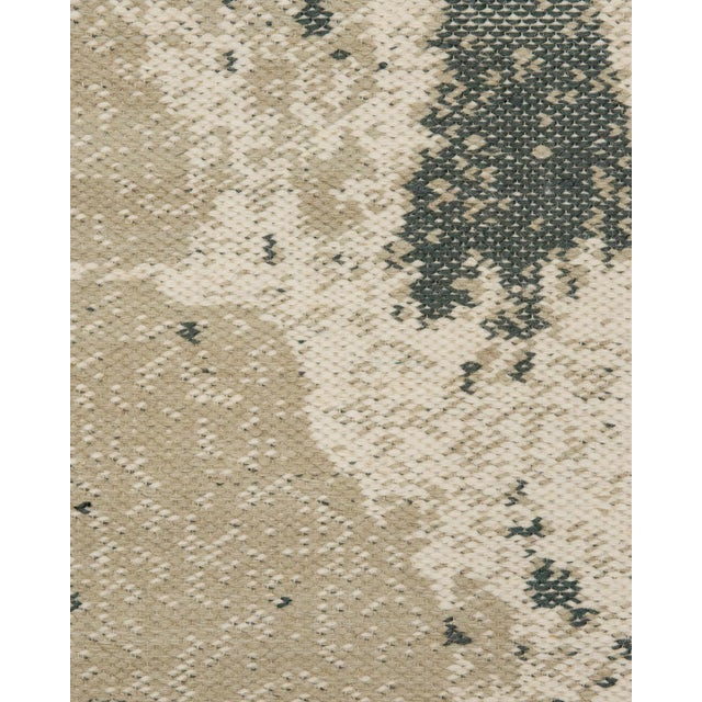 Contemporary Solo Rugs Grit and Ground Collection Contemporary Organic Cracks Flatweave Hand-Knotted Flatweave Area Rug, Beige , 8' X 10' For Sale - Image 3 of 4