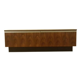 1960s Bruksbo Rosewood Record Cabinet For Sale