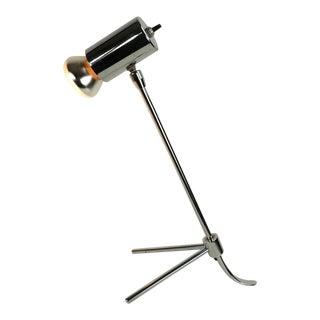Adjustable Architectural Chrome Desk Lamp For Sale