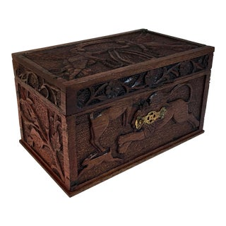 Antique Hand Carved Box