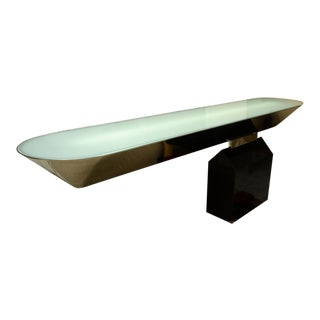 "Mid-Century ""Off Beam Console"" by J. Wade Beam for Brueton For Sale"