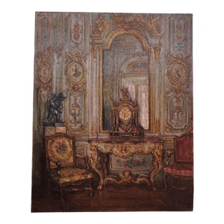 Contemporary French Interior Painting For Sale