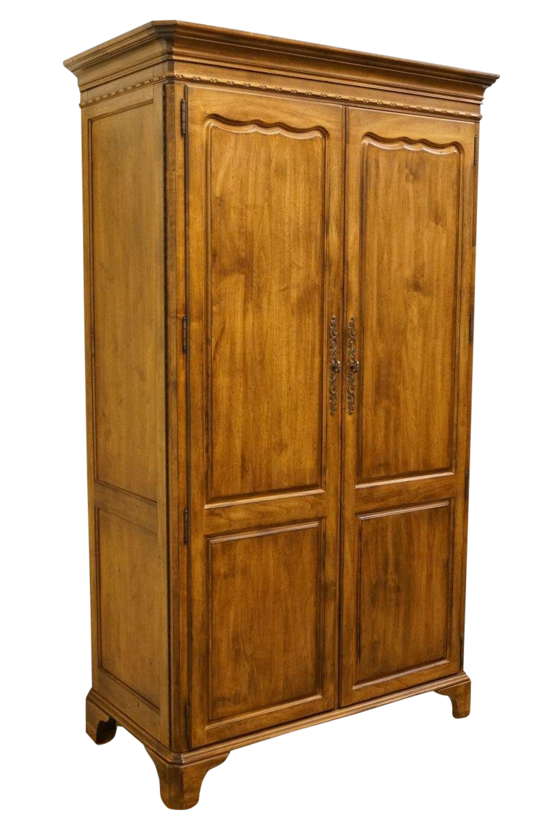 Late 20th Century Vintage Lexington Furniture Southern Living Collection  Country French Armoire