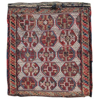 Caucasian Mixed Technique flatwoven Bag For Sale