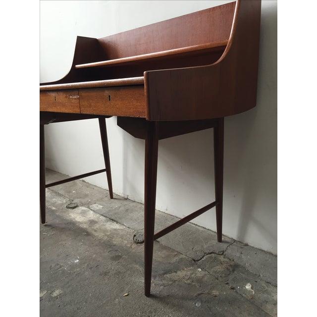 Mid-Century Danish Teak Desk - Image 5 of 11