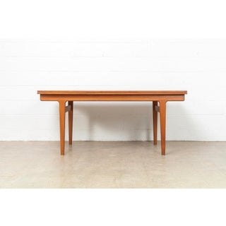Mid Century Danish Modern Vejle Moebelfabrik Extendable Dining Table Preview