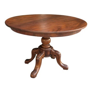 19th Century English Center Table For Sale