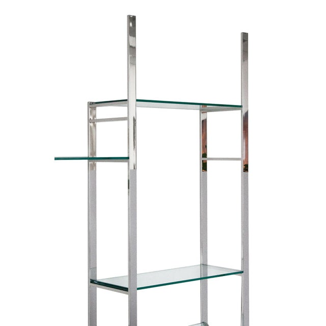Milo Baughman Wall Mounted Shelving System - Image 6 of 10