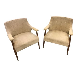1970s Danish Chairs - a Pair For Sale