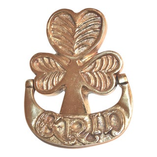 Erin Irish Clover Door Knocker