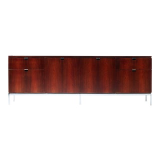 Florence Knoll Rosewood Cabinet For Sale