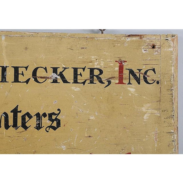 C. 1900Printer's Sign From Long Island NY - Image 4 of 4