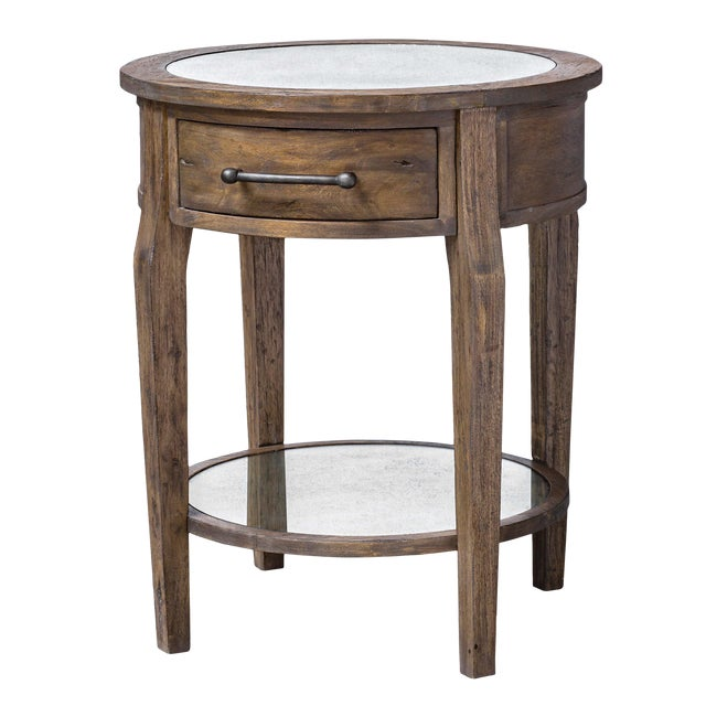 Rustic Lamp Table For Sale