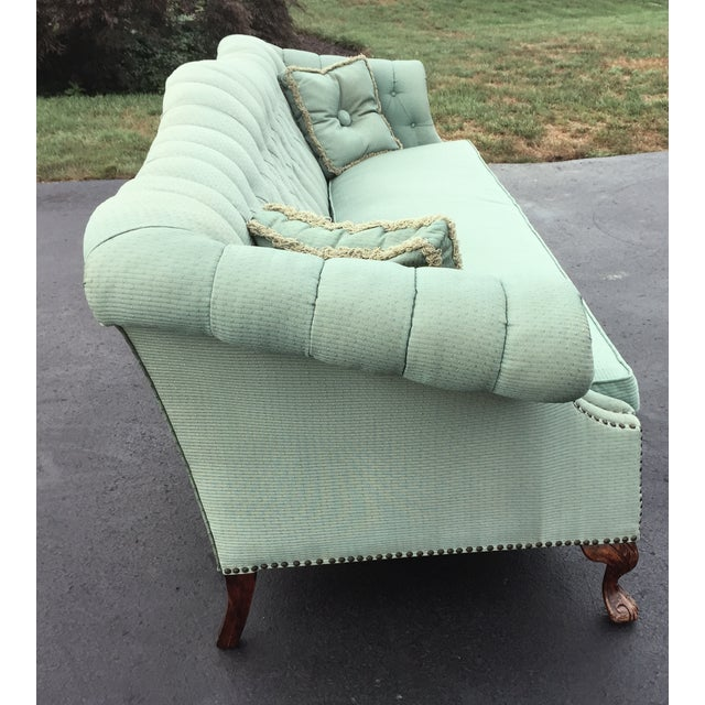 Early to Mid-Century Camelback Tufted Sofa - Image 3 of 6