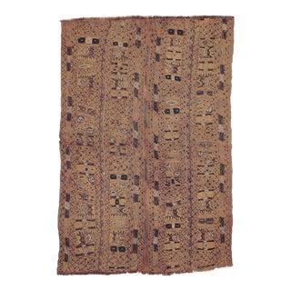 Faded Vintage Arabi Kilim Rug For Sale