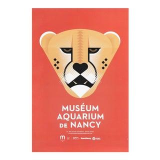 2015 Aquarium De Nancy Poster, Tiger For Sale
