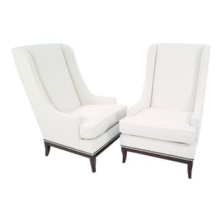 Modern Vanguard Furniture Lounge Chairs- A Pair For Sale
