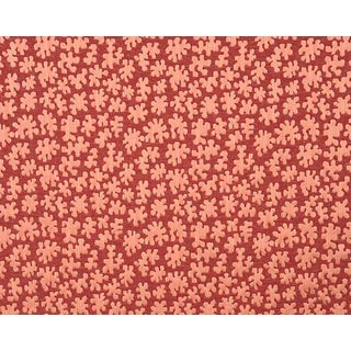 Hinson for the House of Scalamandre Joanna Fabric in Red For Sale