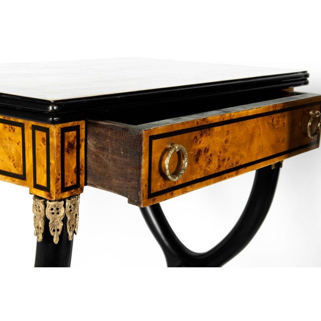 Early 19th Century Early 19th Century Ebony Side or End Tables - a Pair For Sale - Image 5 of 13