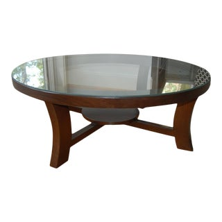 Paul Frankl Coffee Table for Brown Saltman For Sale