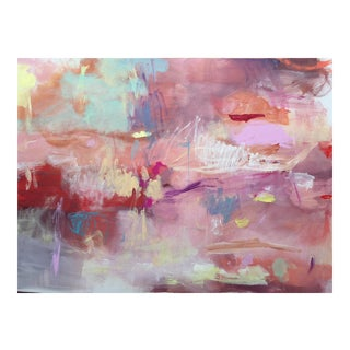 """""""Opera House"""" Original Abstract Painting by Jenny Andrews Anderson"""