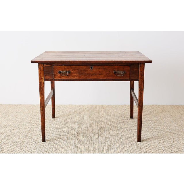 Rustic Pine Farmhouse Work Table or Desk