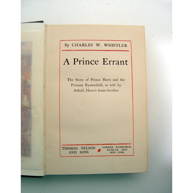 A Prince Errant Book 1908 - Image 6 of 6