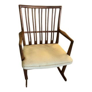 1940s Danish Mdoern Hans Wegner for Mikael Laursen Rocker For Sale