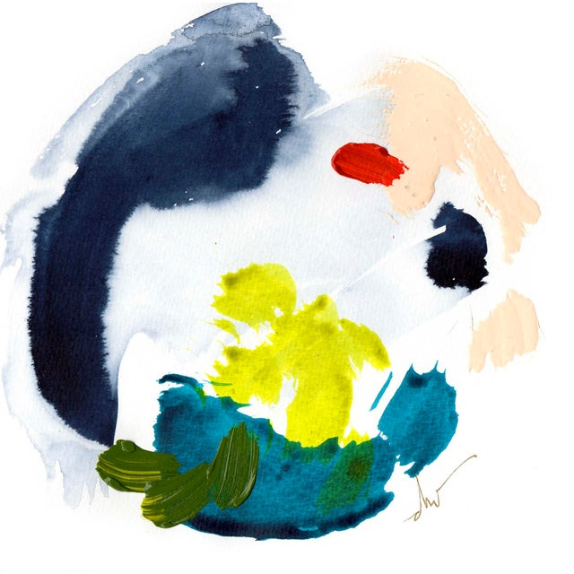 Abstract Beth Winterburn Original Art - 5/15. 6. For Sale - Image 3 of 3