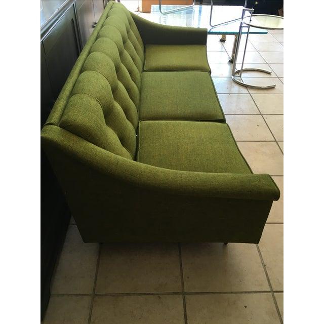 Vintage Lime Green Sofa - Image 5 of 11