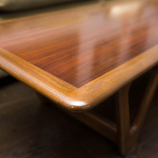 Lane Perception Coffee Table in Walnut - Image 3 of 11