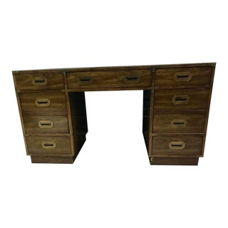 Bernhardt Campaign Executive Desk For Sale