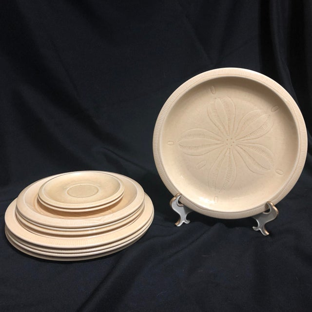 Vintage Franciscan Sea Sculptures Dinnerware - a Set of 12 For Sale In Charleston - Image 6 of 8