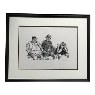 """Fanned Out"" Illustration by Charles Dana Gibson For Sale"