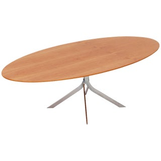 Danish Mid-Century Modern Oval Coffee Table For Sale